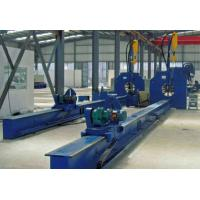 Buy cheap Automatic Submerged Light Pole Straight Seam Welding Machine Length 14000mm product