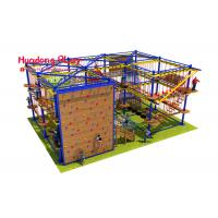 Buy cheap Gymnastic Indoor Adventure Playground Eco - Friendly With Climbing Board product