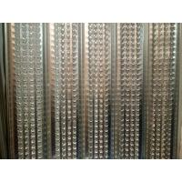 Buy cheap ISO Standard High Ribbed Formwork , HY Rib Sheet 0.25mm Thinkness from wholesalers