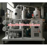 China High Voltage Double Staged Vacuum Transformer Oil Regeneration Plant, Oil Purifier plant Iusulation Oil Degassing System on sale