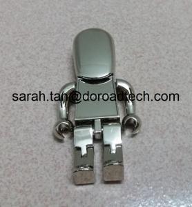 Buy cheap Милая ручка УСБ робота металла управляет, приводы УСБ подарка с логотипом печатания лазера в золоте/серебре product