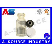 Buy cheap Clear Sterile Injection Small Glass Bottles Empty Glass Bottles Laboratotyt Tesing Packaging from wholesalers