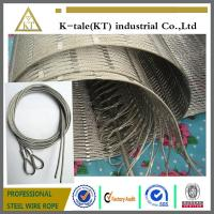 Buy cheap 304 Рук-сплетенная сетка веревочки провода нержавеющей стали для рамок лестницы product