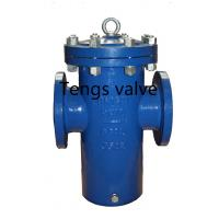 Buy cheap Ansi & Din Standards Cast / Ductile Iron Flanged Epoxy Coat Basket Filter, Basket Strainer product