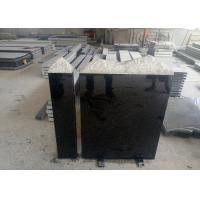 Buy cheap European Style Granite Memorial Headstones Black Galaxy / Other Color product