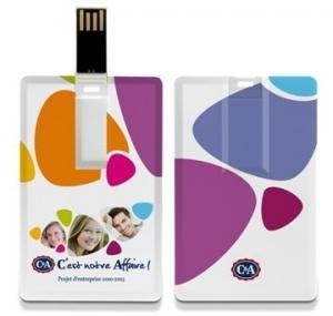 Buy cheap Водоустойчивый дисковод USB хранения привода вспышки USB формы кредитной карточки product
