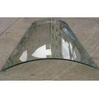 Buy cheap CE , ISO , CCC Approved heatproof Curved Tempered Glass Thermal insulation product