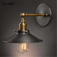 Buy cheap American vintage wall lamp indoor lighting bedside lamps wall lights for home diameter 22cm 110V/220V E27 product