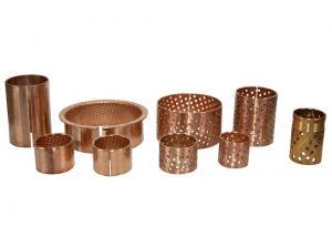Buy cheap Lifting Machinery 120N/mm²  200℃ Wrapped Bronze Bushings product