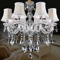 China New Modern led crystal chandelier s for Dining room kitchen Livingroom Bedroom K9 crystal lustrwa de teto chandelier wholesale