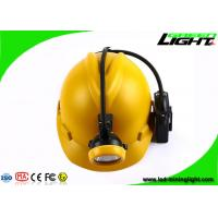 China Rechargeable Coal Miner Headlamp Waterproof LED Cap Lamp with Cable USB Charging 10000Lux on sale