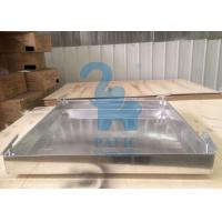 Aluminum Bar Grating Square Stormwater Drain Grates Smooth Surface