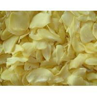 Buy cheap White Food Recipe Dehydrated Vegetables Dried Garlic Flakes SDV-GARF product