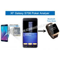 Buy cheap Metal / Plastic S708 Wireless Camera Poker Analyzer With One Or Two Decks product