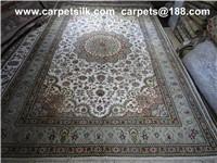 Buy cheap tapis en soie persan lavé fait main product