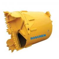 Quality Pile Rotary Auger Rock Drilling Bucket R15 / R26 / R28 / R30 / R38 / R60 for sale