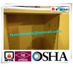 Buy cheap Cabinets de sécurité inflammables industriels jaunes pour l'huile/stockage liquide chimique product