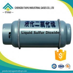 Buy cheap Anhydride sulfureux de /c-1_SO2 d'anhydride sulfureux de SO2 de Purity_Sulfur de SO2 liquide de bioxyde product