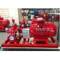 Buy cheap 500GPM@175PSI, Ul Listed ,MOTOR DRIVER ,Split casing Pump set ,with Jockey Pump,50HZ-380) from wholesalers