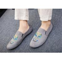 Buy cheap Black Gray Blue Loafer Slip On Shoes Driving Moccasins Shoes Breathable from wholesalers
