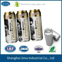 Buy cheap TPS Aluminum Beverage Cans Round Body Thickness 0.15-0.25mm Food Grade from wholesalers