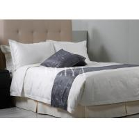 Buy cheap All Season Comfortable Luxury Hotel Bedding Sets Feather Jacquard Fabric Bed Sheets product