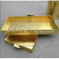 Buy cheap Non sparking tank tray , brass or copper material 120*120*50mm, 100*50*150mm product