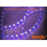 Buy cheap Blue And White 5730 Waterproof Double Row LED Strip Light / 10MM LED Tape Light from wholesalers