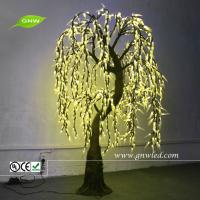China GNW tr268 Outdoor Led Tree Lights Yellow Willow trees branch for gifts GNW tr268 on sale