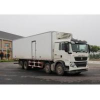 China CCC / BV Sinotruk Refrigerator Box Truck 8x4 With HOWO 70 Cabin on sale