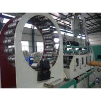 Buy cheap HDPE PE steel reinforced winding pipe making machine product