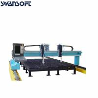 Buy cheap Stainless Steel Plate Automatic Cutting Gantry CNC Plasma Cutting Machines product
