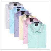 Buy cheap Men's shirts  solid color  business casual shirt mens underwear product