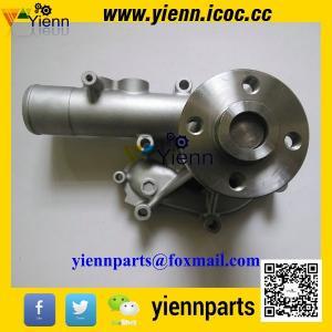Buy cheap Pompe à eau de Yanmar S4D106 4TNV106 4TNE106 de pièces de moteur de chargeur de pelle rétro de KOMATSU WB93R-2 123900-42000 123907-42000 product