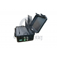 Buy cheap 12 Antennas Suitcase 5G 60m High Power Signal Jammer Portable from wholesalers