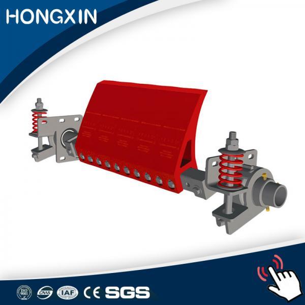 Quality 182 mm height Coal mining adjustable secondary polyurethane conveyor belt scraper rubber for sale