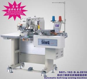 China 自動ベルトのループ ミシン wholesale