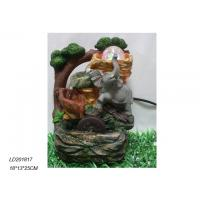 Buy cheap Polyresin waterfall fountain with elephant with ball product