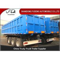 Buy cheap 55 Tons Hydraulic 3 Axles 45cbm Tipper Semi Trailer with BPW alxe product