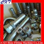 Buy cheap 90 deg elbow BSP male 60 deg seat/NPT male hydraulic fittings product