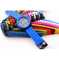 Buy cheap Soft Plastic Kids Waterproof Swimming Watches With Big Case Diameter product