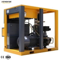 Buy cheap Nice Quality Oil Injected Coupling Direct Screw Air Compressor with inverter 55kw/75hp product