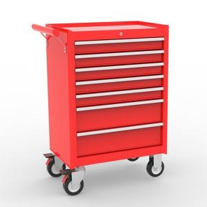 Buy cheap Red 7 Drawers Mobile 1.0mm Workshop Tool Storage Cabinets product