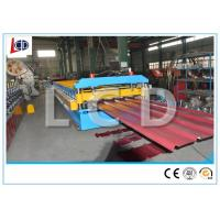 Crimp Curved Roof Roll Forming Machine Optional Color With 23 Groups Roll Station