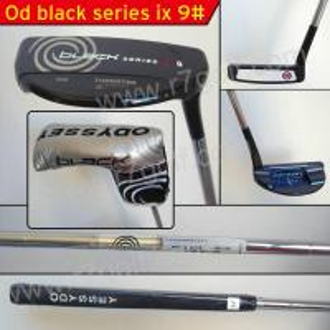 Buy cheap golf putter/OD Black serice ix 9#  golf putter product