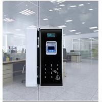 Buy cheap Mobile Control Smart Glass Door Lock Electroplating Surface FRR <0.1% product