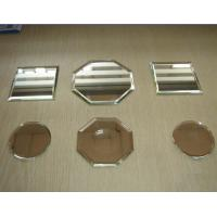 China 3 - 6mm Clear , Bronze , Grey Silver Mirror Glass panel with Pencil , Flat , Beveled Edge on sale