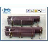Buy cheap Anti Corrosion Industrial Boiler Superheater Tube , Fuel Gas Superheater High Speed Heating product
