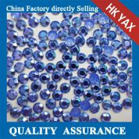 Buy cheap China wholesale dark blue rhinestuds hot fix, octagon rhinestuds hot fix, hot fix studs product