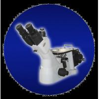 Buy cheap Inverted Metallurgical Microscope with Wide View Field , High Resolution Images product